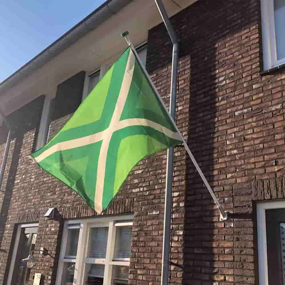 Extreem Achterhoekse vlag incl. vlaggenstok en vlaggenstokhouder 100x150cm ZR11