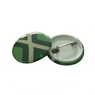 25mm button met speld